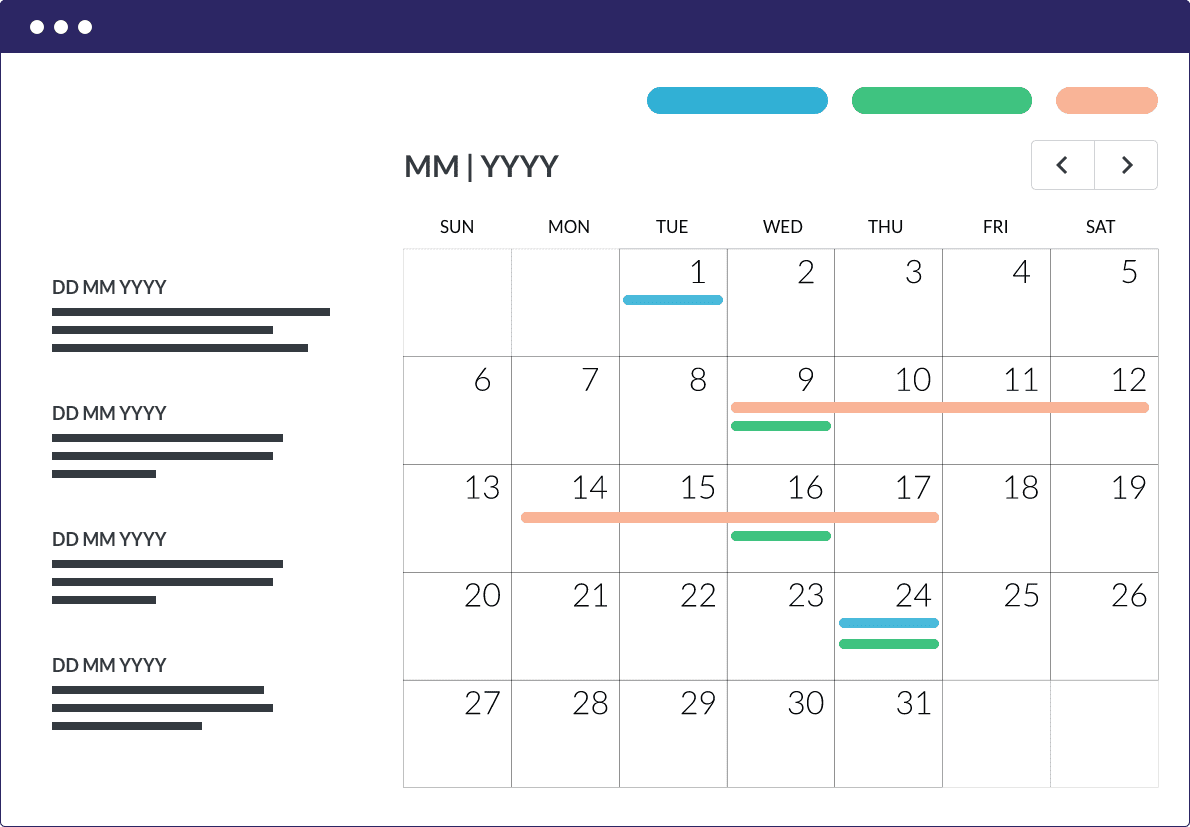 communication-calendar